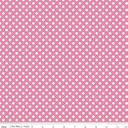 Knit Basics : Small Dot Hot Pink Stretch Jersey Knit - The RBD Designers