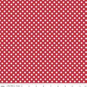Knit Basics : Small Dot Red Stretch Jersey Knit - The RBD Designers