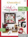We Whisk You a Merry Christmas - Machine Embroidery Book - Kimberbell Designs