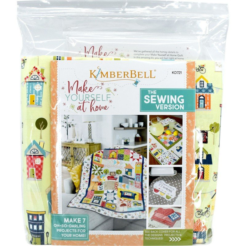 Make Yourself At Home Kit--Sewing Version - KimberBell