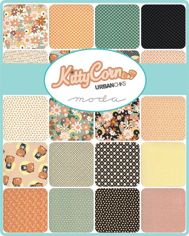Kitty Corn : Fatty Cake - (25) 10x1/2WOF strips - Urban Chiks
