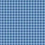 Kimberbell Basics : Houndstooth Blue on Blue - #MAS8206-BB - Kimberbell Designs