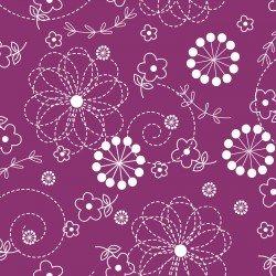 Kimberbell Basics : Doodles Violet Red - #MAS8246-VR - Kimberbell Designs