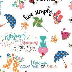 Sprinkle Sunshine - #MAS8250-W - By Kim Christopherson - Kimberbell