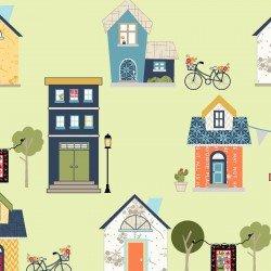 Make Yourself at Home : At Home Green - #MAS9390-G - By Kim Christopherson - Kimberbell