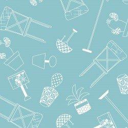Make Yourself at Home : Home Furnishings Blue - #MAS9393-B - By Kim Christopherson - Kimberbell