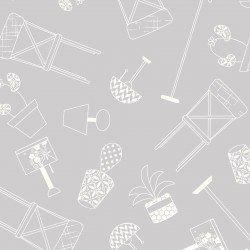 Make Yourself at Home : Home Furnishings Gray - #MAS9393-K - By Kim Christopherson - Kimberbell