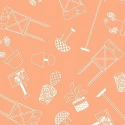 Make Yourself at Home : Home Furnishings Orange - #MAS9393-O - By Kim Christopherson - Kimberbell