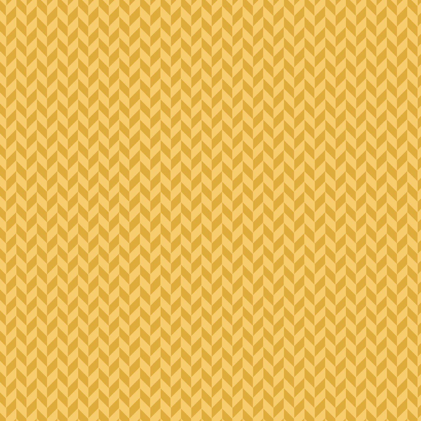 Make Yourself at Home : Herringbone Texture Sunshine - #MAS9397-S - By Kim Christopherson - Kimberbell