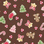 We Whisk You a Merry Christmas! : Christmas Cookies Brown - #MAS9671-A - Kimberbell Designs