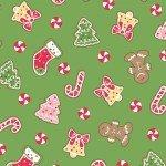 We Whisk You a Merry Christmas! : Christmas Cookies Green - #MAS9671-G - Kimberbell Designs