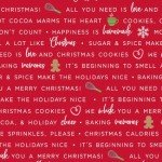 We Whisk You a Merry Christmas! : Holiday Baking Phrases Red - #MAS9672-R - Kimberbell Designs