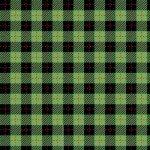 We Whisk You a Merry Christmas! : Buffalo Plaid Black/Green - #MAS9673-JG - Kimberbell Designs