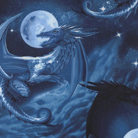Blue Dragons - #MICHAEL-C5638-BLUE