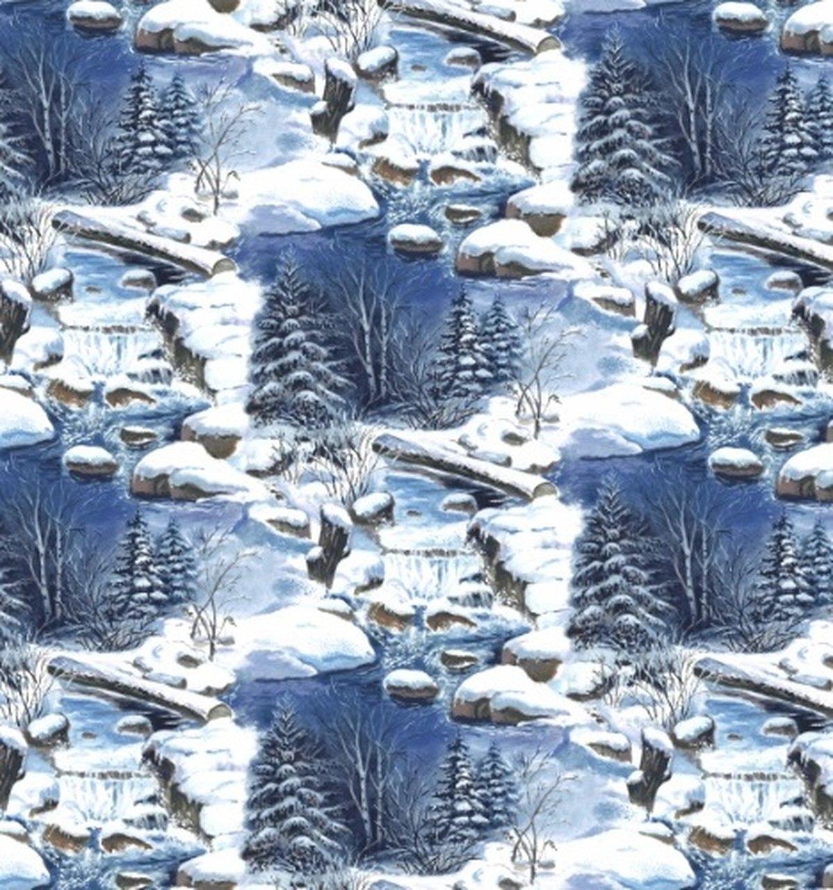 Snowscapes 7347 011 Lt Blue