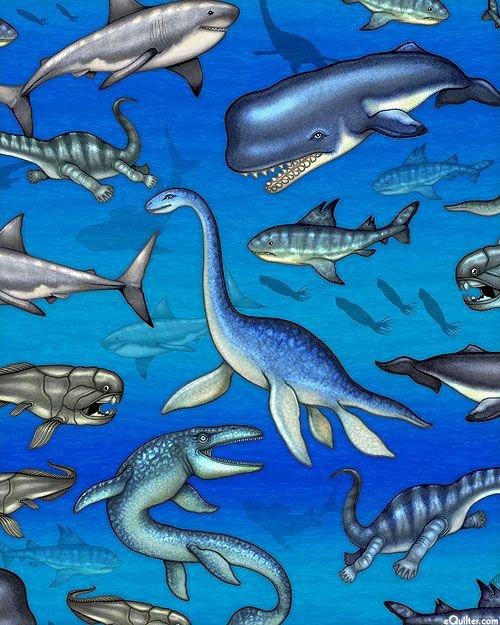 Jurassic Jungle - Prehistoric ocean creatures