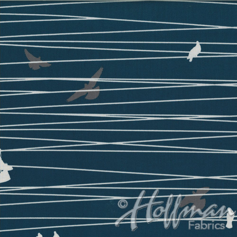 Grafic - By Latifah Saafir - #P4273-19 - Navy