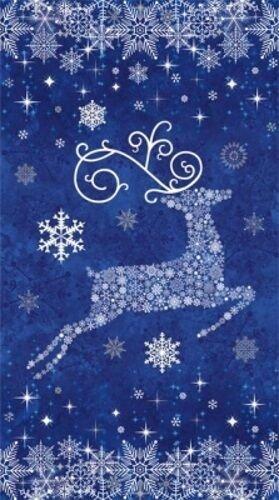 Reindeer PranceBlue Panel