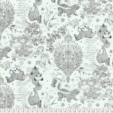 Linework : Sketchyer Paper - Backing Fabric - #QBTP005.PAPER - Tula Pink