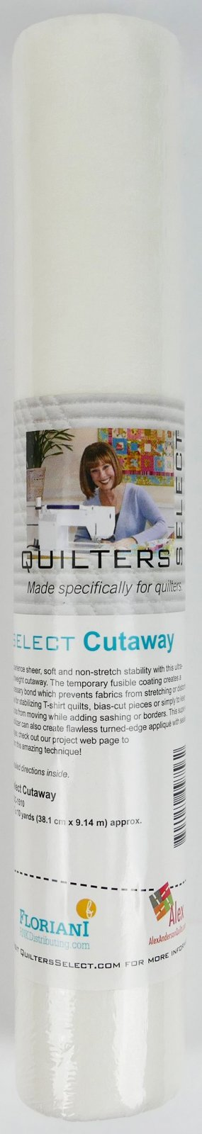 Select Cutaway - 15 x 10 yds - Quilters Select