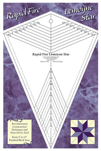 Rapid Fire Lemoyne Star Ruler : Deb Tucker