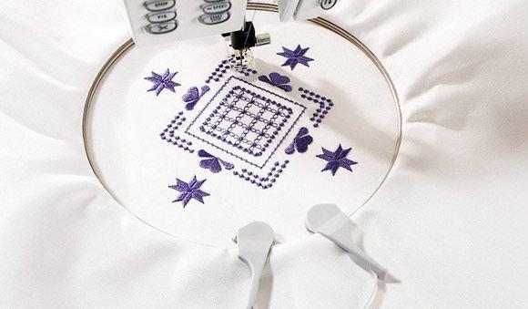Embroidery Spring Hoop 100x100mm - Husqvarna Viking