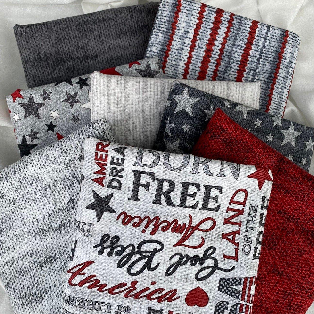 My America Fabric Challenge Bundle