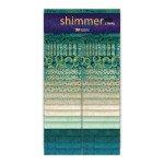 Shimmer : Lagoon Metallic - (40) 2-1/2 Strips