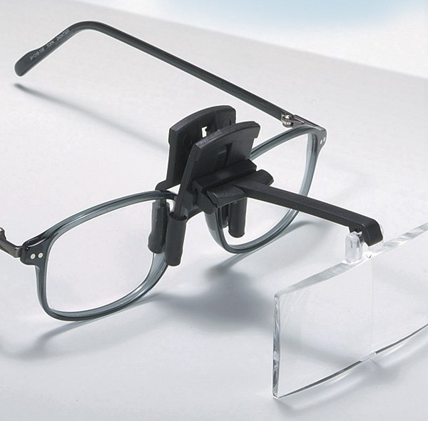 StarMag Clip-on Spectacle Magnifiers with 4 Lenses - Daylight