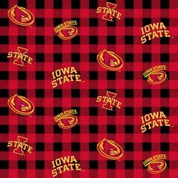 Iowa State University : Buffalo Plaid - #ISU-1207