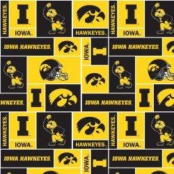 University of Iowa : Minky Print - #IA-1241
