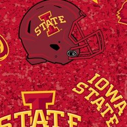 Iowa State University : Minky print - #ISU-123