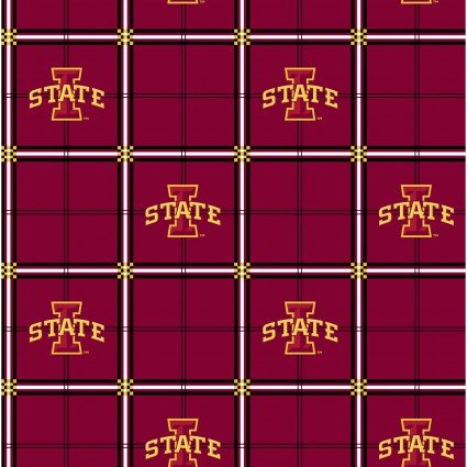 Iowa State University : Plaid Flannel - #1498-08