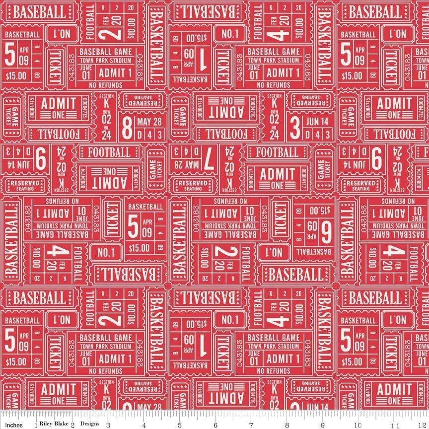 Play Ball - Lori WhitlockC4312 RED