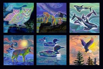 Creatures of the Wild 2ATG-14633-2 BLACK