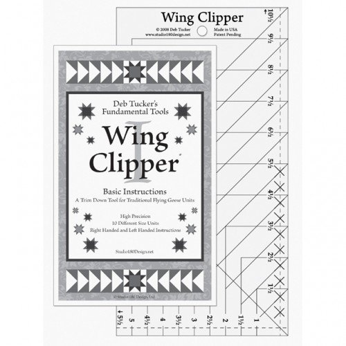 Deb Tucker's Wing Clipper Ruler