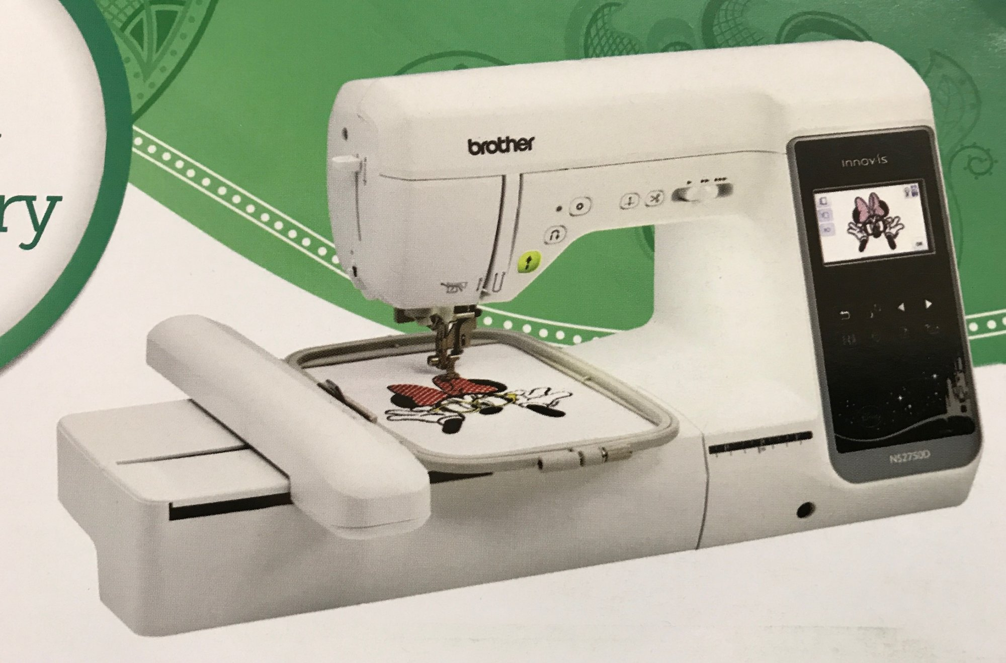 Innov-is NS2750D Sewing & Embroidery Machine