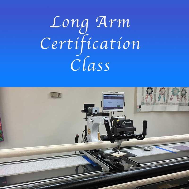 18jan27 Long Arm Certification Class