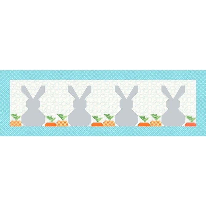 Table Runner May Springtime Bunnies *20