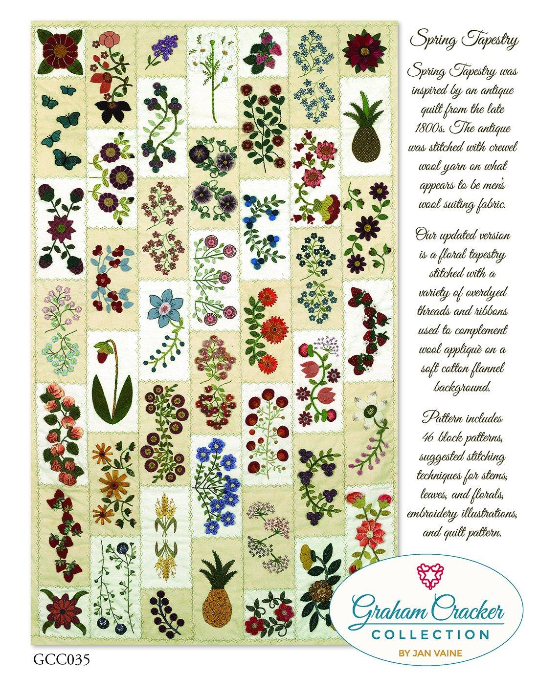 GCC Spring Tapestry.