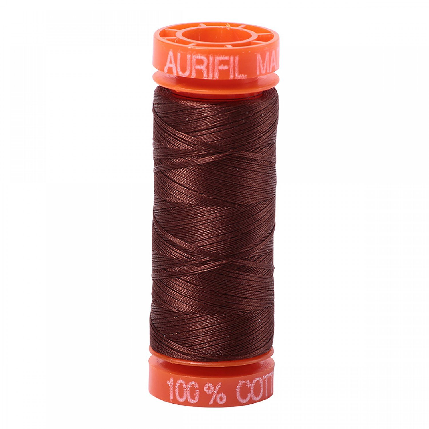50 wt Aurifil - AS2360 - Chocolate