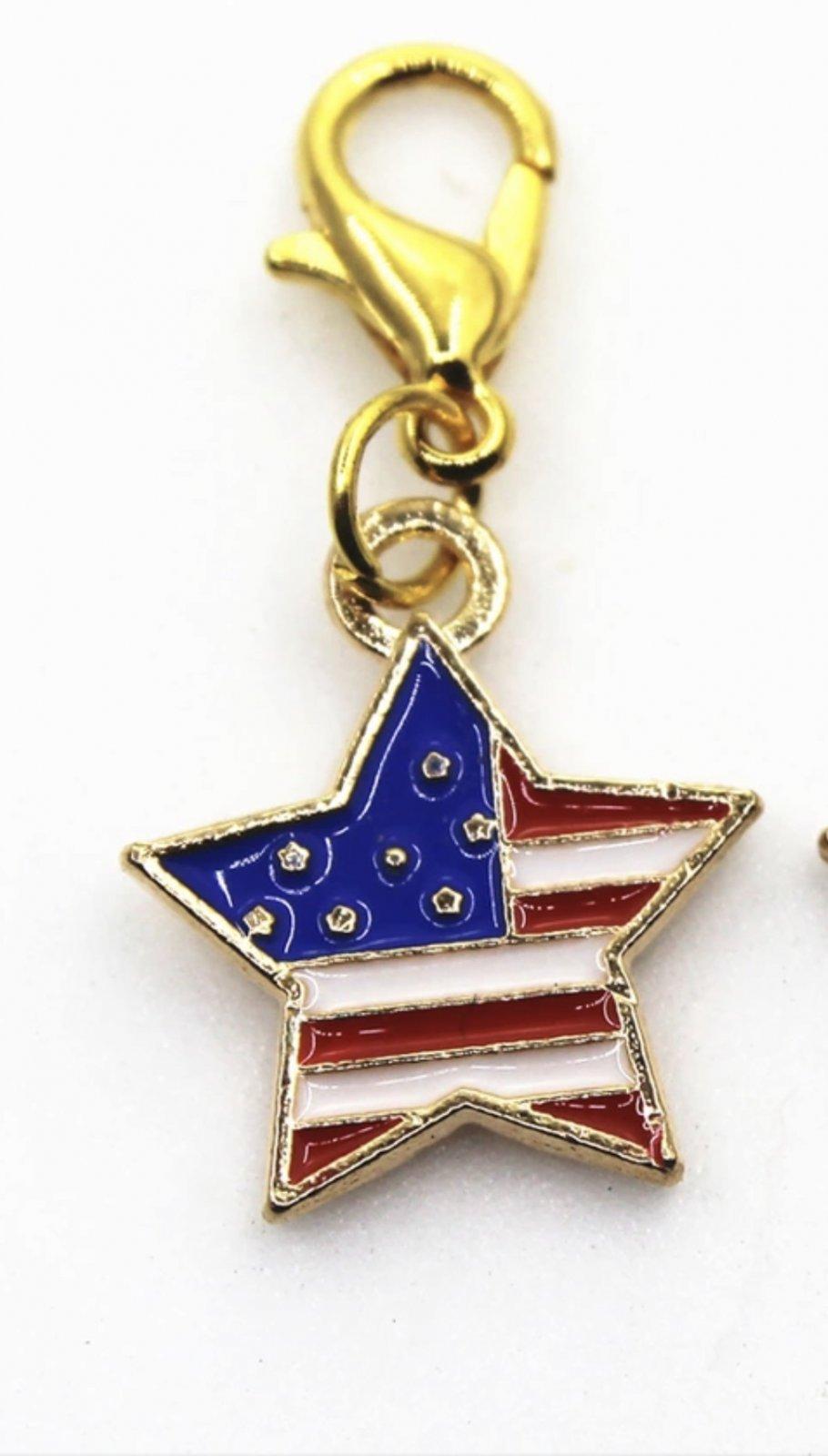 Charm - Patriotic Star