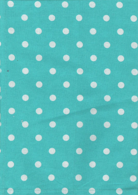TTWL Polka Dots On Turquoise