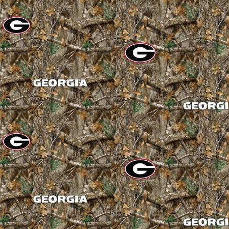 NCAA Realtree Edge Digitally Printed Georgia