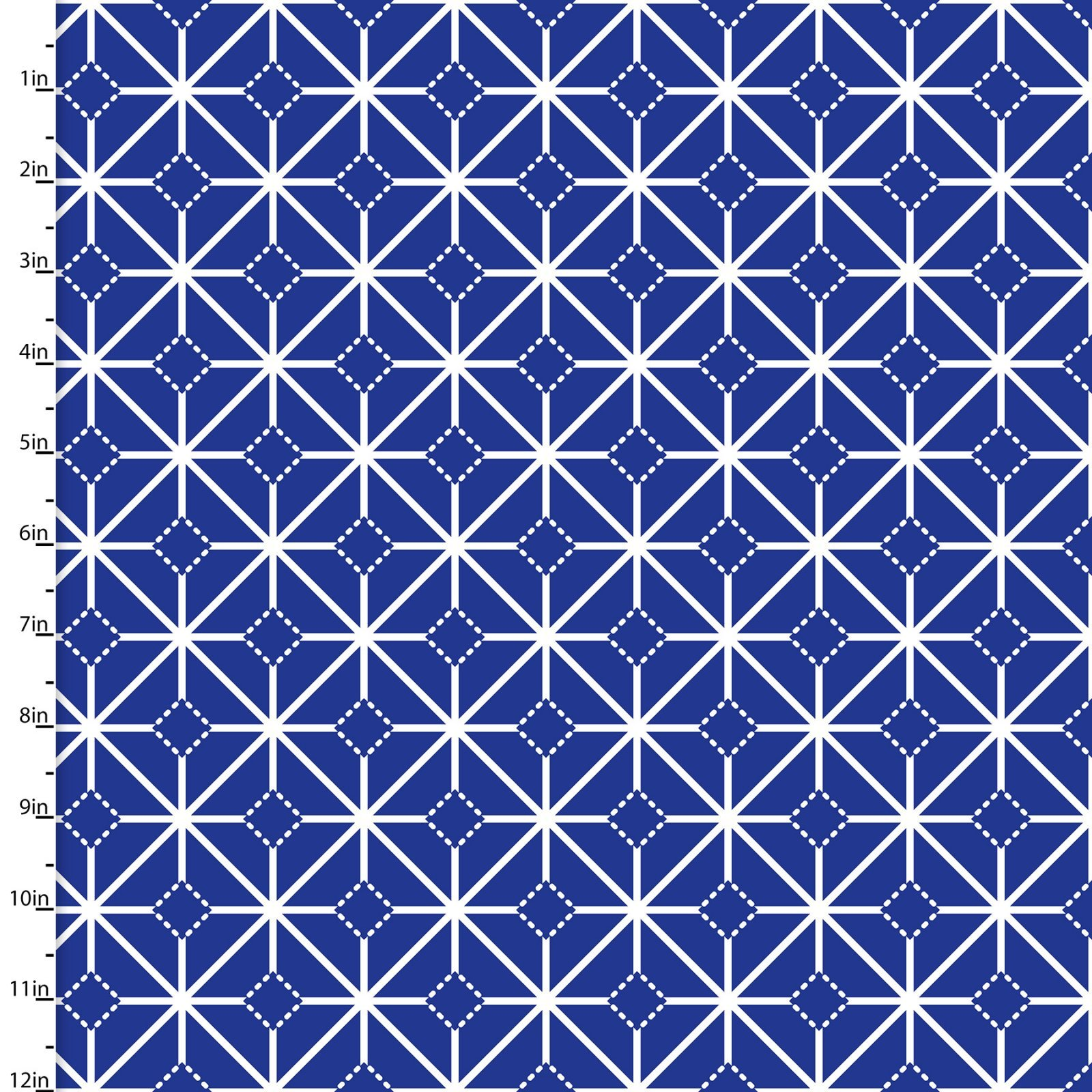 Carnival Blue - Navy Tile