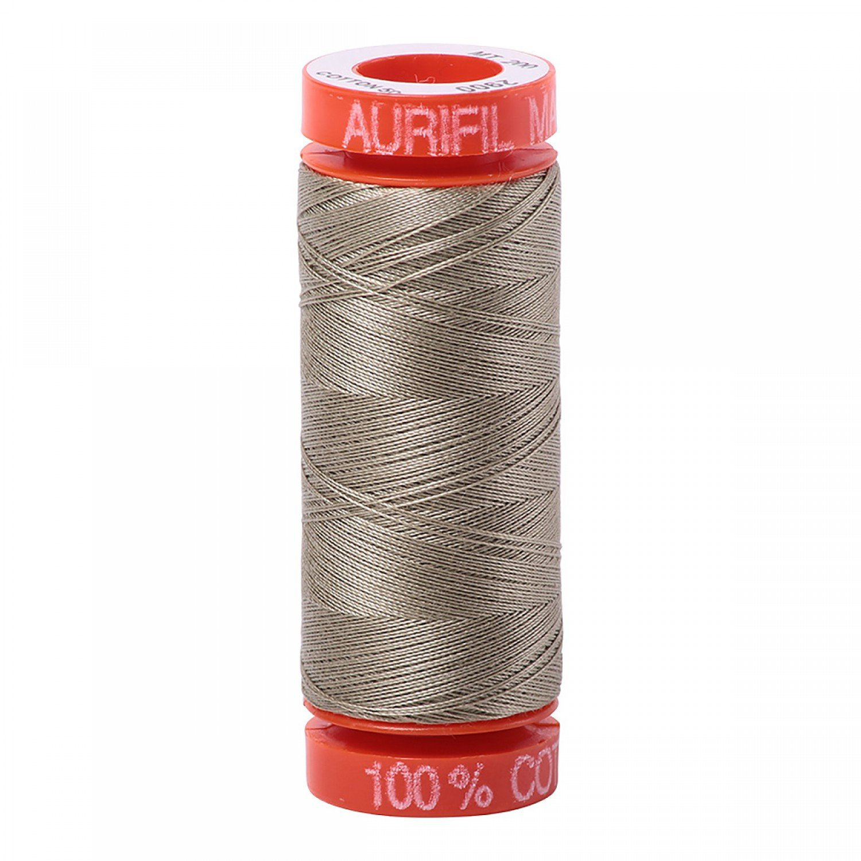 50 wt Aurifil - AS2900 Light Khaki Green