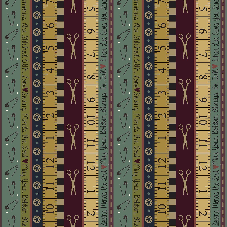 Primitive Stitches Tape Measure