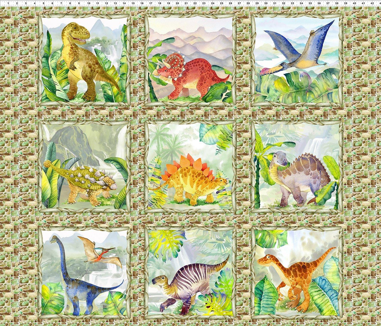 Dinosaur Friends 36 Panel