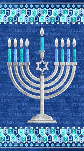 Happy Hanukkah Panel 24