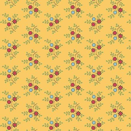 Bleecker Street - Flower Spring/Dk Gold
